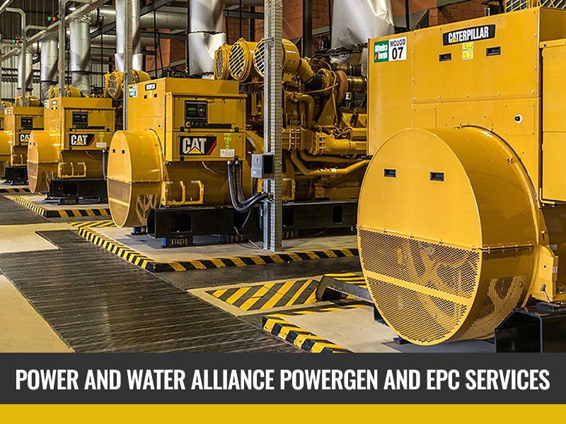 Finance for power generation and water companies.